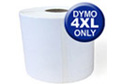 """Dymo 1744907 compatible 4""""x6"""" Thermal Shipping Labels (220 per roll)"""