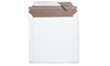 "Size 6""x6"" White Rigid Mailer with Peel-N-Seal (CD SIZE)"