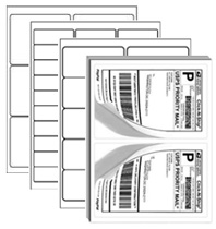 Adhesive Shipping Labels