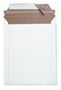 "Size 9""x11.5"" White Rigid Mailer with Peel-N-Seal"